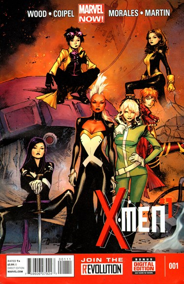 X-Men Gold Cover - 7/1/2013