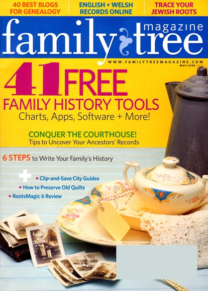 Family Tree Cover - 5/1/2013