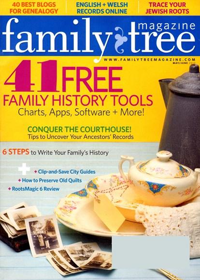 Family Tree Cover - 5/1/2013