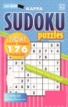 Blue Ribbon Kappa Sudoku Puzzles Magazine 9/1/2013