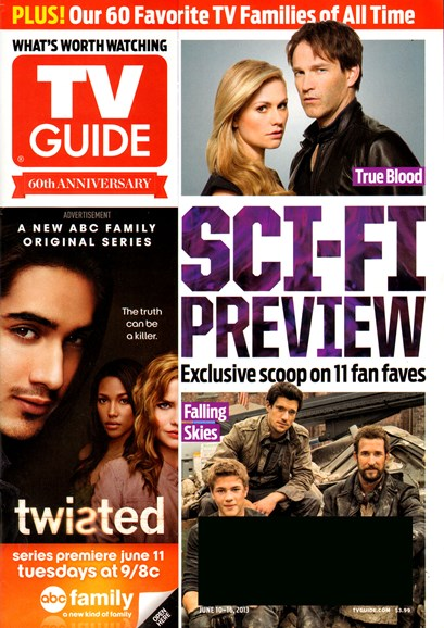 TV Guide Cover - 6/10/2013