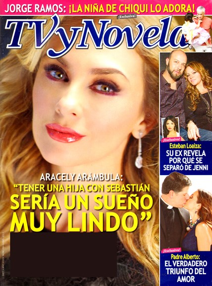 Tv Y Novelas Cover - 6/1/2013