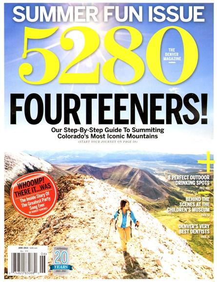 5280 Magazine Cover - 6/1/2013