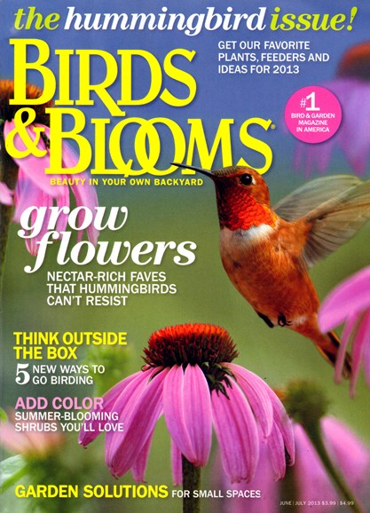 Birds & Blooms Cover - 6/1/2013