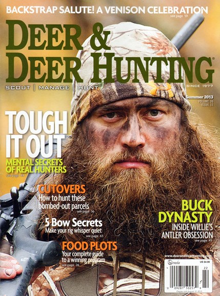 Deer & Deer Hunting Cover - 6/1/2013
