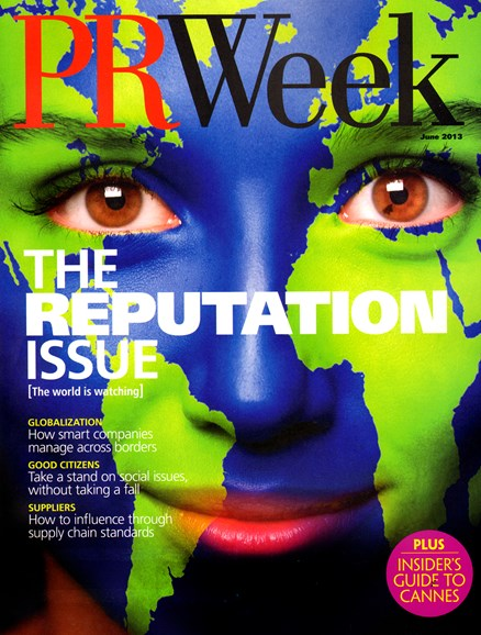 PRWeek Cover - 6/1/2013