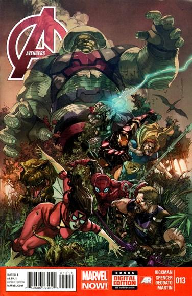 Avengers Cover - 8/1/2013