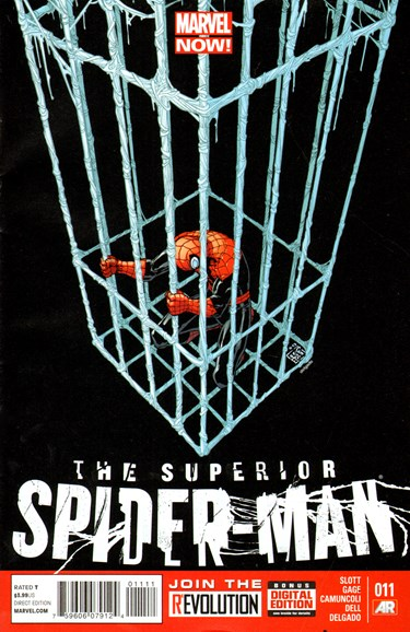 Amazing Spider-Man Cover - 8/1/2013