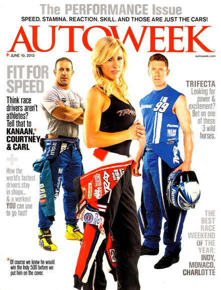 Autoweek Cover - 6/10/2013