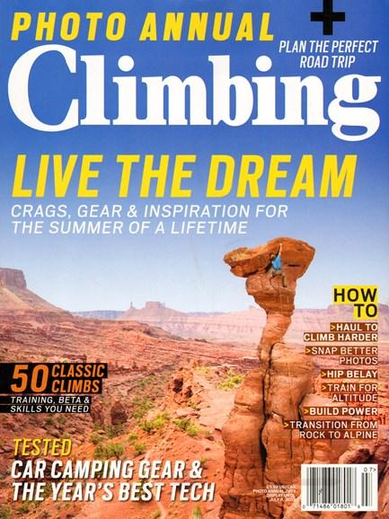 Climbing Magazine Cover - 6/1/2013