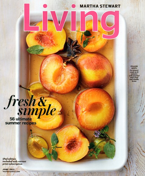 Martha Stewart Living Cover - 6/1/2013