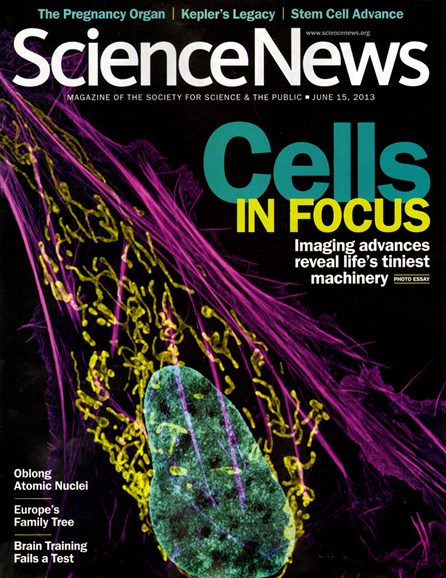 Science News Cover - 6/15/2013