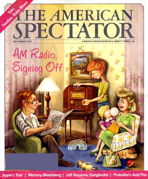 The American Spectator Cover - 7/1/2013