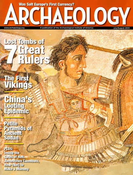 Archaeology Cover - 7/1/2013