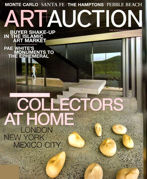 Blouin Art & Auction Cover - 7/1/2013