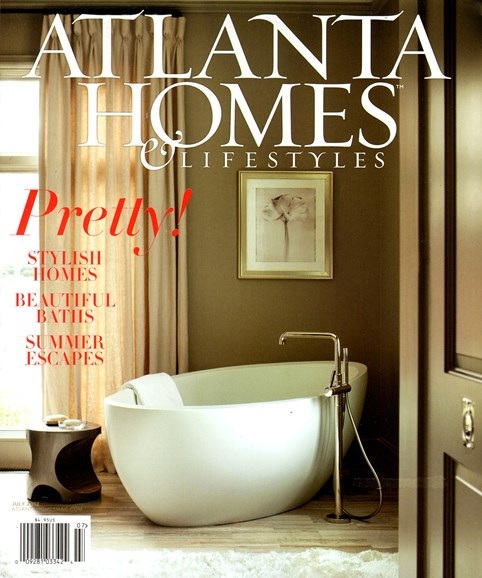 Atlanta Homes & Lifestyles Cover - 7/1/2013