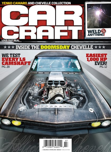 Car Craft Cover - 7/1/2013