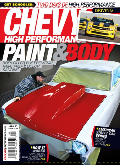 Chevy High Performance Cover - 7/1/2013