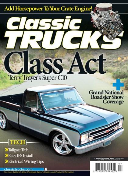Classic Trucks Cover - 7/1/2013