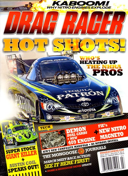Drag Racer Cover - 7/1/2013
