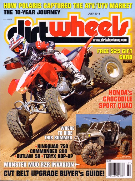 Dirt Wheels Cover - 7/1/2013