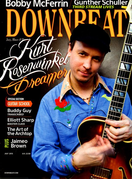 DownBeat Cover - 7/1/2013
