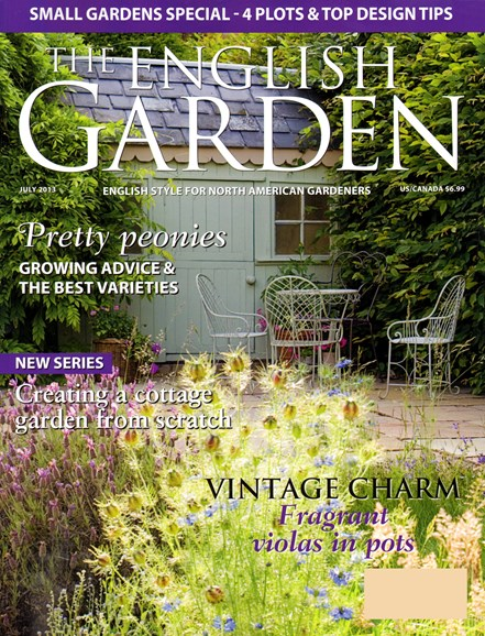 The English Garden Cover - 7/1/2013
