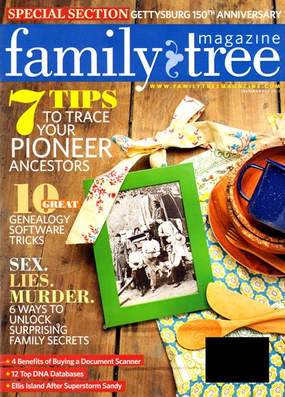 Family Tree Cover - 7/1/2013