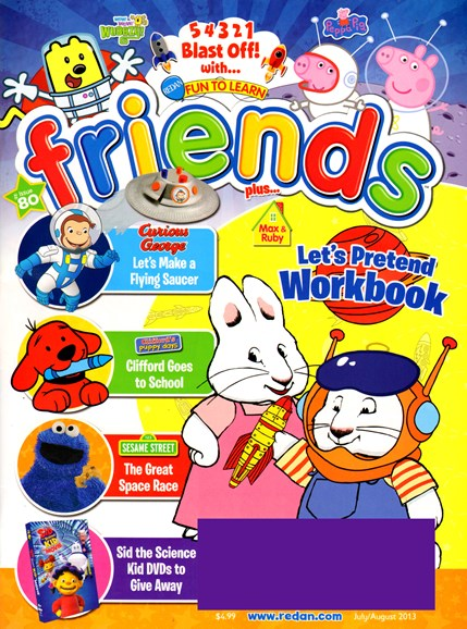 Preschool Friends Cover - 7/1/2013