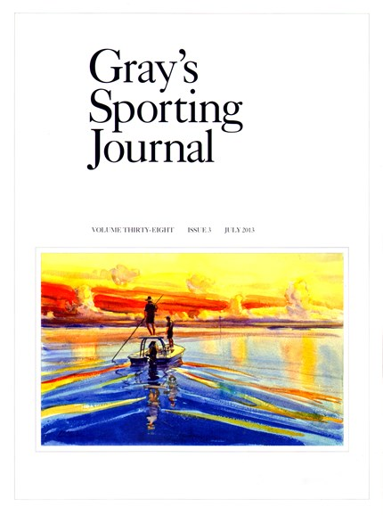 Gray's Sporting Journal Cover - 7/1/2013