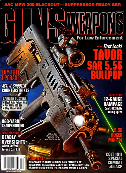 Guns & Weapons For Law Enforcement Cover - 7/1/2013