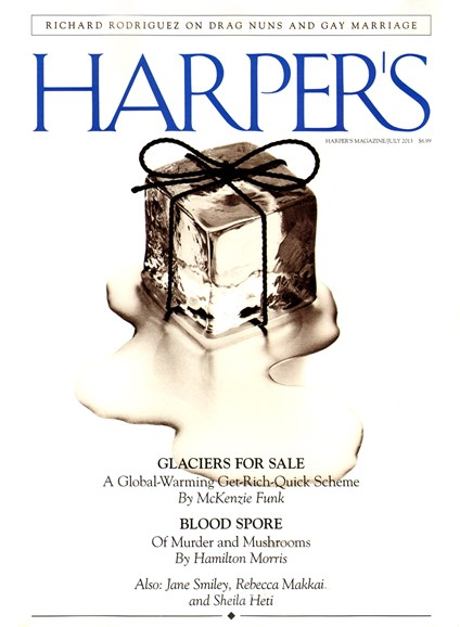 Harper's Cover - 7/1/2013