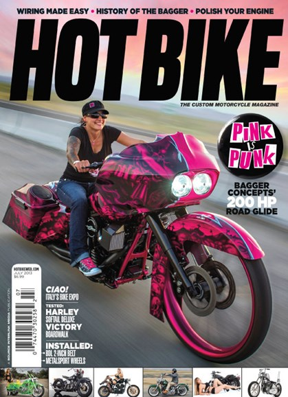 Hot Bike Cover - 7/1/2013
