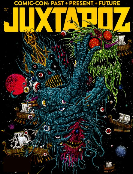 Juxtapoz Cover - 7/1/2013