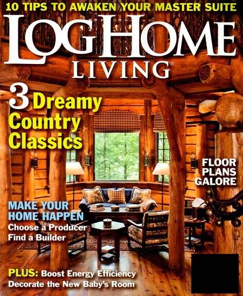 Log and Timber Home Living Cover - 7/1/2013