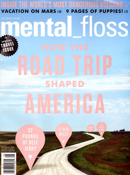 Mental Floss Cover - 7/1/2013