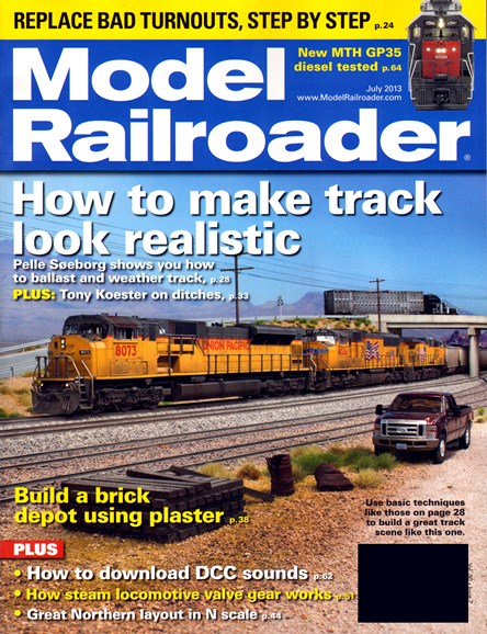Model Railroader Cover - 7/1/2013