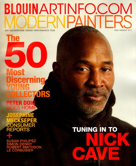 Blouin Modern Painters Cover - 7/1/2013