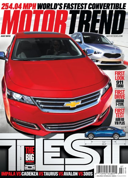 Motor Trend Cover - 7/1/2013