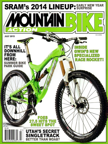 Mountain Bike Action Cover - 7/1/2013