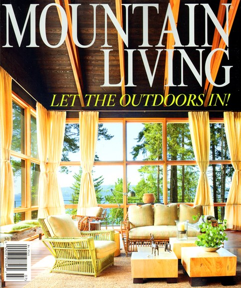 Mountain Living Cover - 7/1/2013