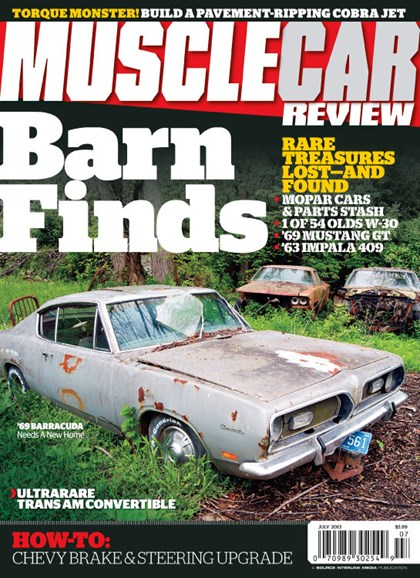 Muscle Car Review Cover - 7/1/2013