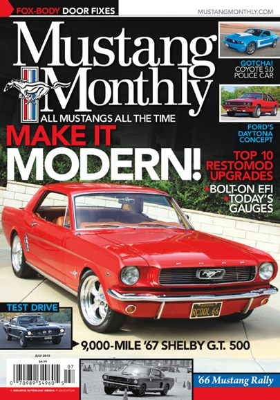 Mustang Monthly Cover - 7/1/2013