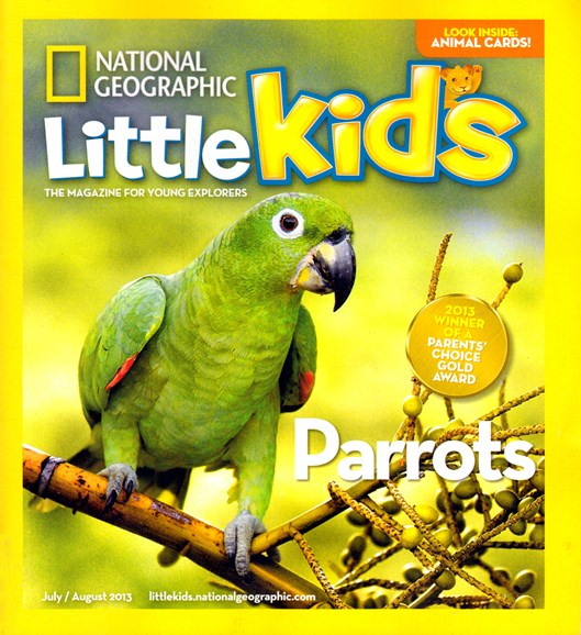 National Geographic Little Kids Cover - 7/1/2013