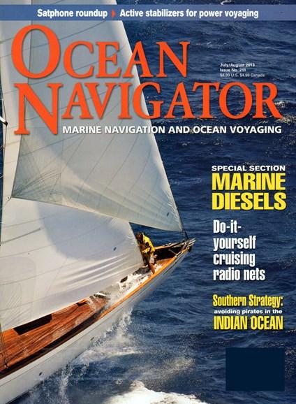 Ocean Navigator Cover - 7/1/2013