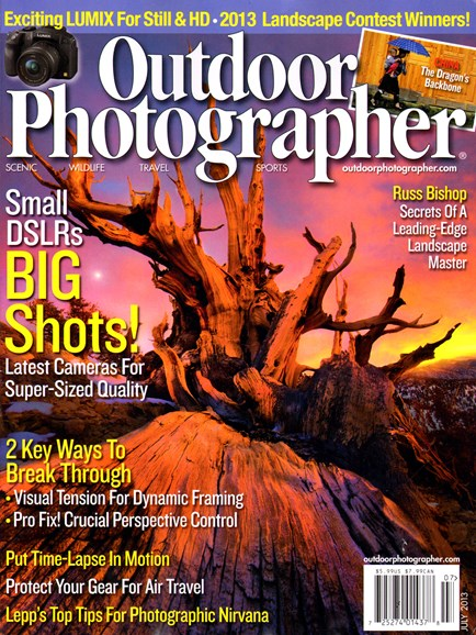 Outdoor Photographer Cover - 7/1/2013