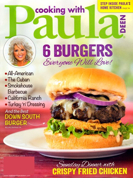 Cooking With Paula Deen Cover - 7/1/2013