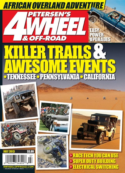 4 Wheel & Off-Road Cover - 7/1/2013