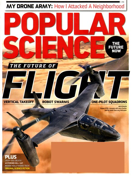 Popular Science Cover - 7/1/2013