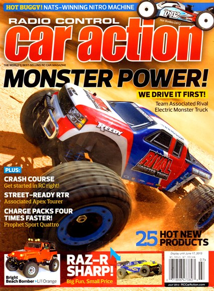 Radio Control Car Action Cover - 7/1/2013